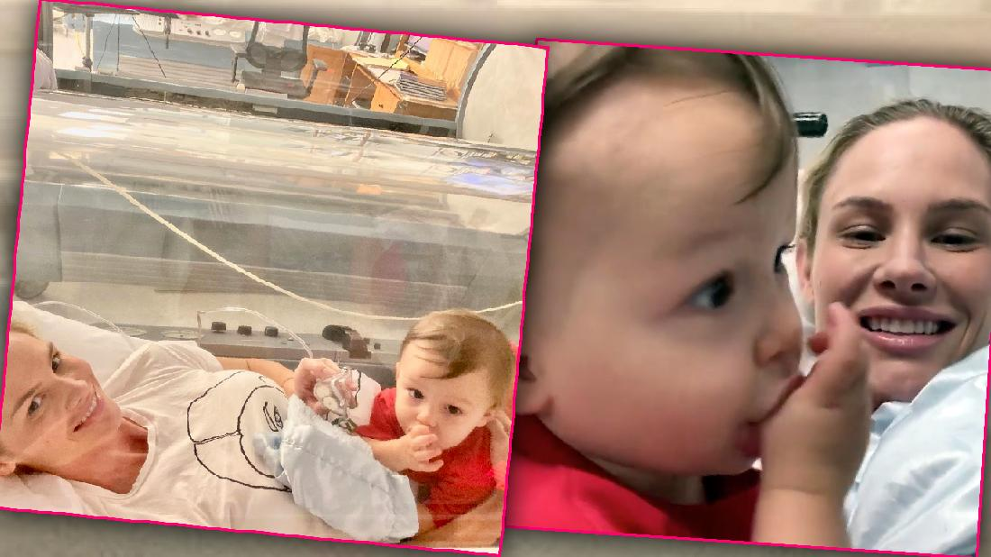 Meghan King Edmonds Shows Ill Son In Hyperbaric Chamber