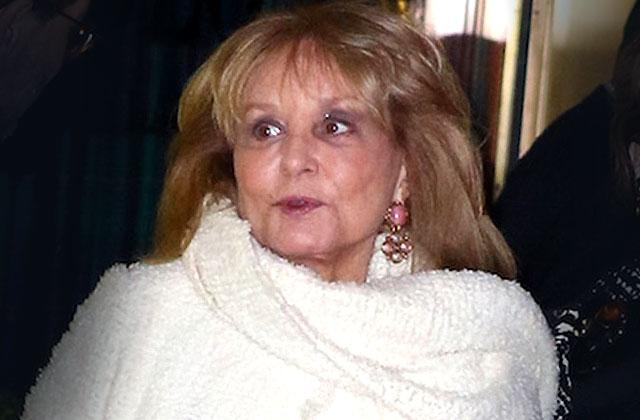 Barbara Walters Hospitalized