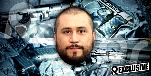 //inside george zimmermans arsenal trayvon martin killer has disturbing firearm collection  wide