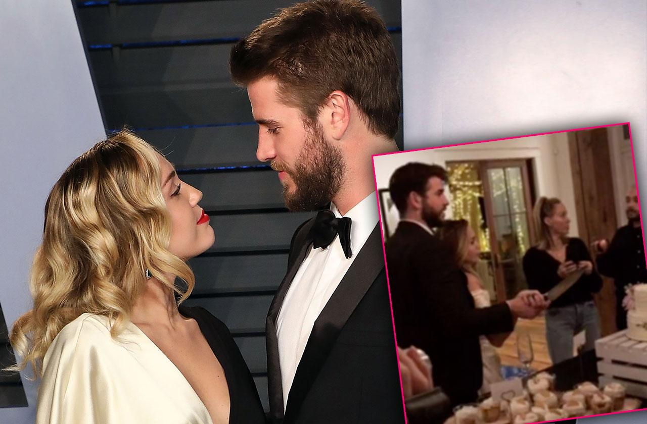 miley cyrus liam hemsworth wedding