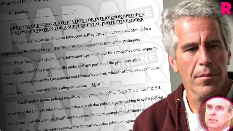Prince Andrew Jeffrey Epstein Plea Deal