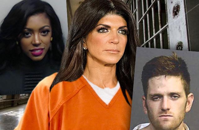 Housewives Arrest DUI Jail Prison Josh Waring Teresa Giudice