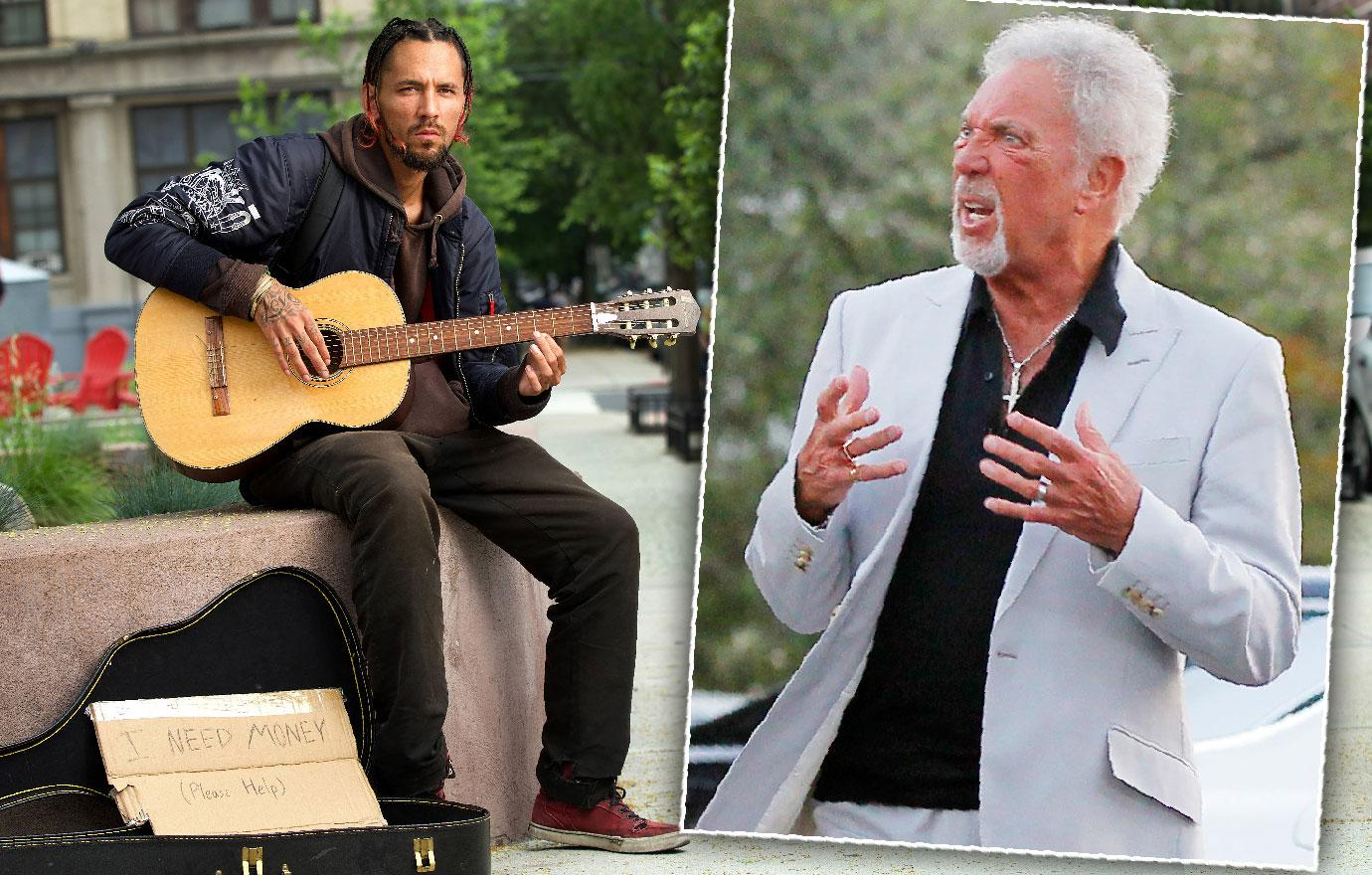 Ill Tom Jones Illegitimate Homeless Son Begs To See Him