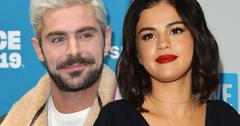 Selena Gomez and Zac Efron Hanging Out