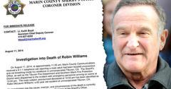 //robin williams marin county sherrif coroner report pp sl