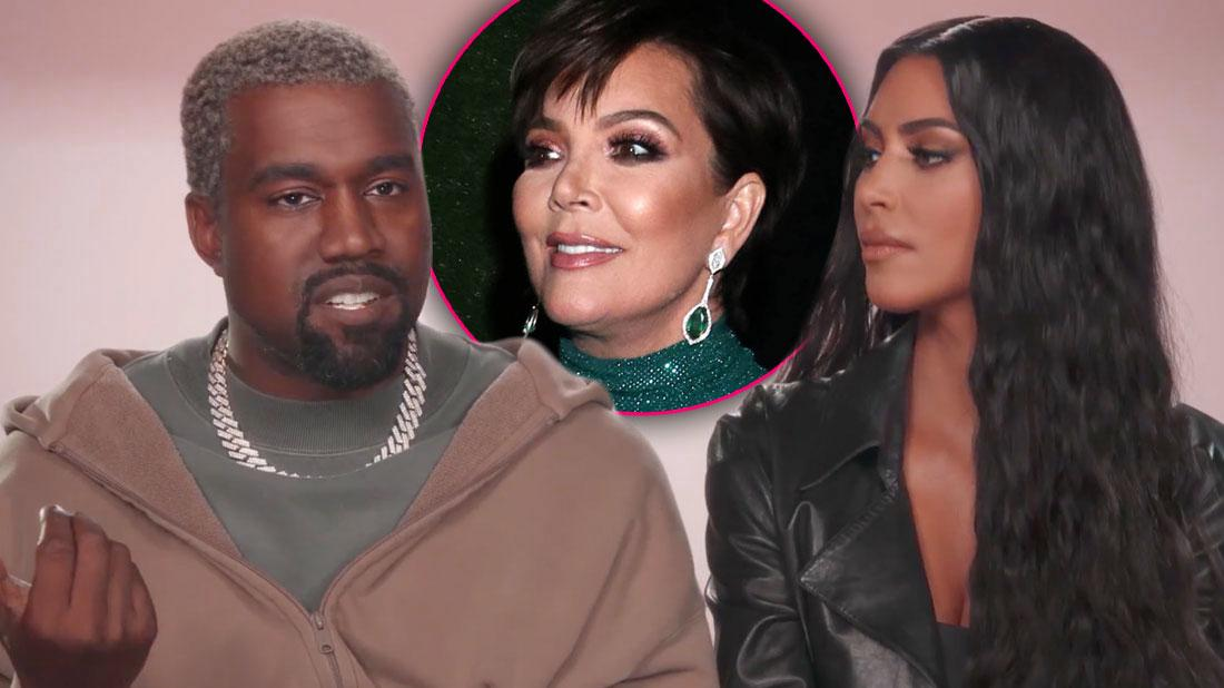 Kris Jenner Hoping Kanye West New Role Can Save 'KUWTK'