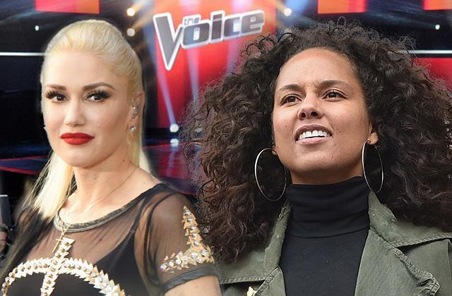//Voice Alicia Keys Gwen Stefani Feud Backstage pp