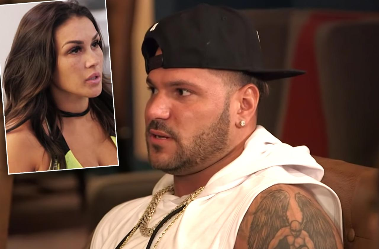 Ronnie Ortiz-Magro's Ex Jen Harley Claims He Went Away To 'Get Better'