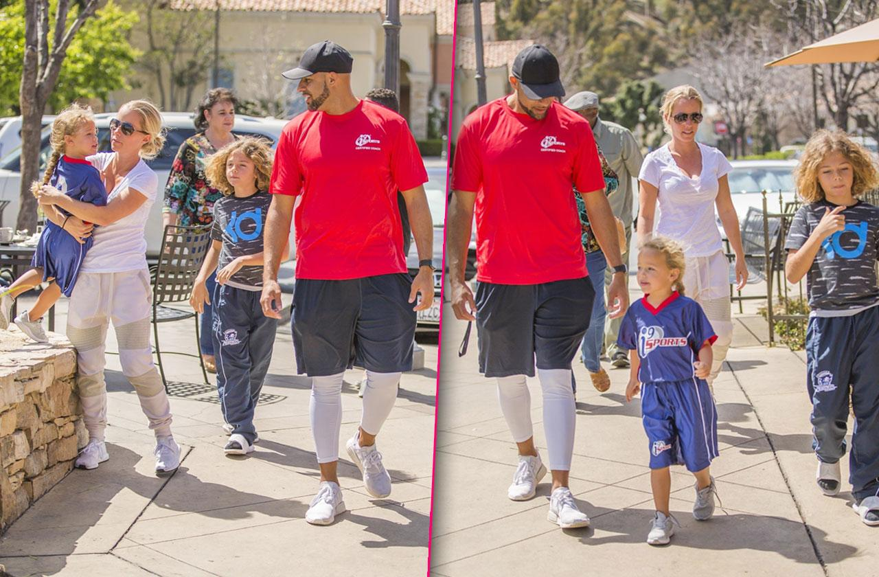 Kendra Wilkinson Hank Baskett Kids Divorce