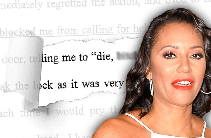 //mel b suicide confession overdose husband abuse pp