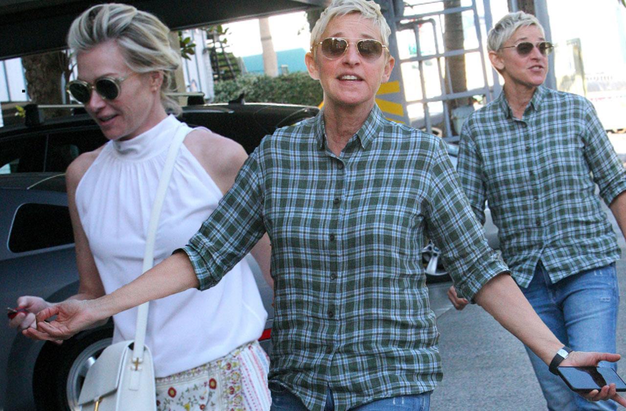 Ellen DeGeneres Portia De Rossi Marriage Meltdown Date Pics