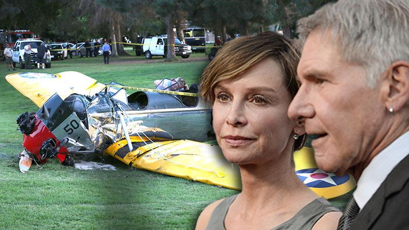 Calista Flockhart Angry Harrison Ford