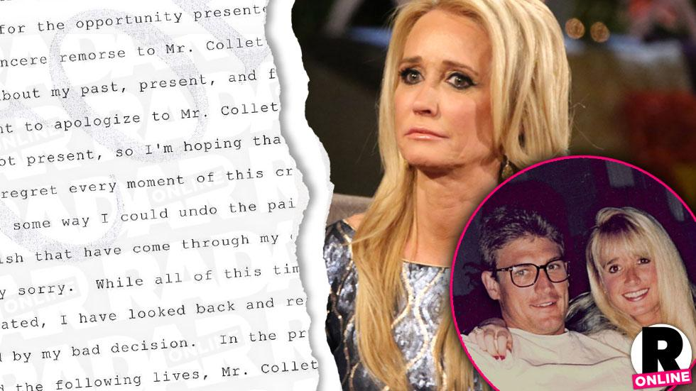 Kim Richards' Former Fiance's Killer Apologizes In Open Letter