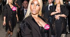 Nicki Minaj Nip Slip NYFW