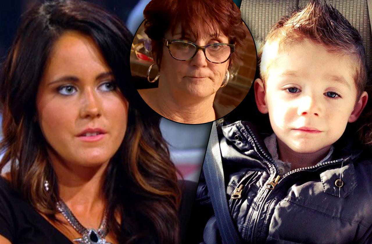 //jenelle evans loses custody mom barbara evans interview PP
