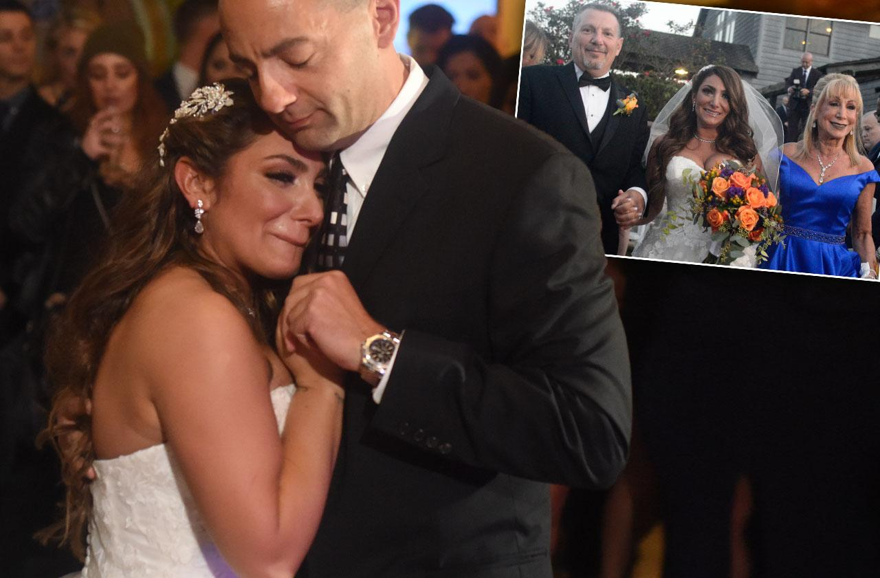 deena cortese wedding late dad tribute