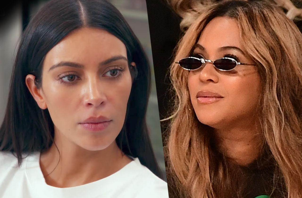 //Kim kardashian beyonce freeze out pp