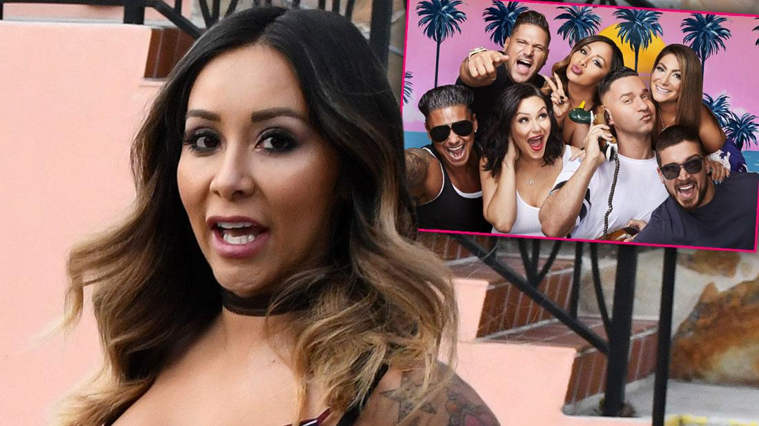 Snooki Threatens To Quit 'Jersey Shore' After Drunk Fight About Baby