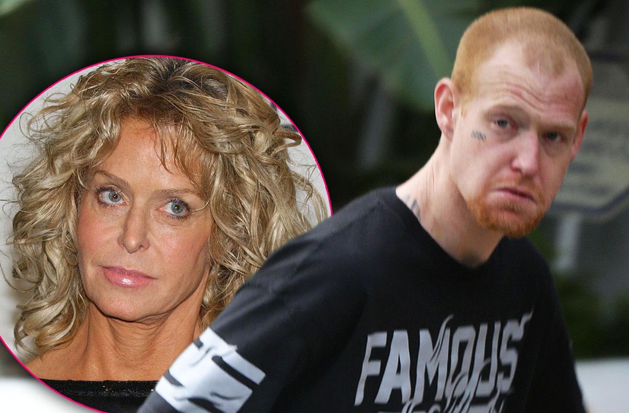 Farrah Fawcett Son Redmond O'Neal Drug Charges Robbery