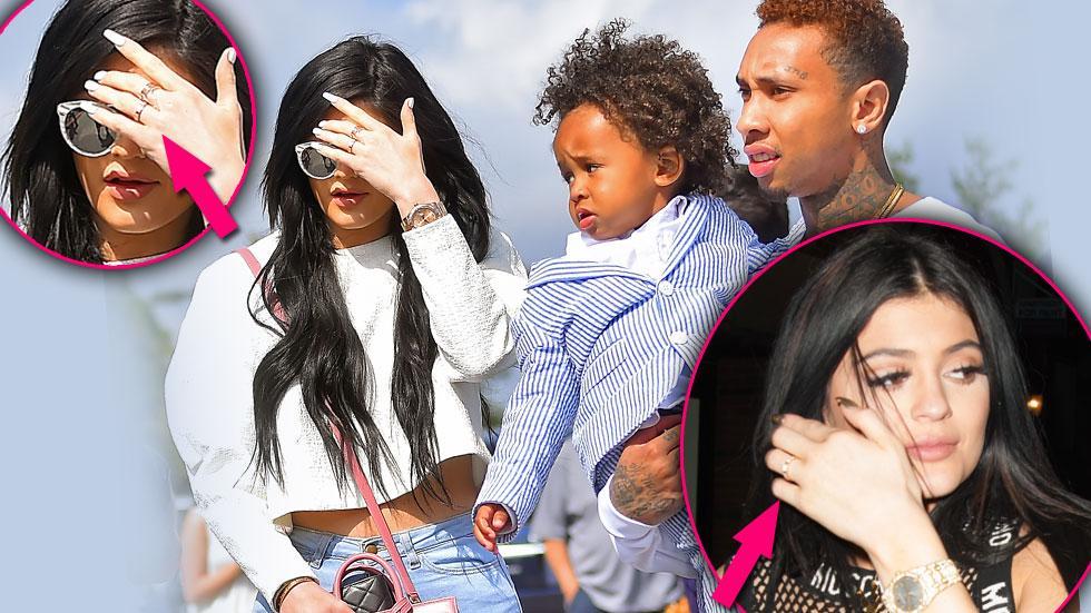 Tyga And Kylie Jenner Secretly Engaged