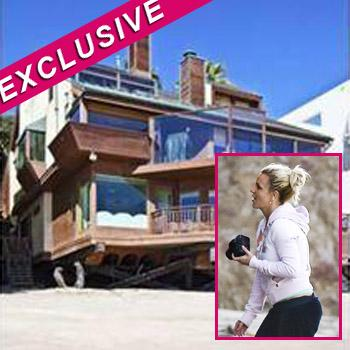 //britney spears home rent