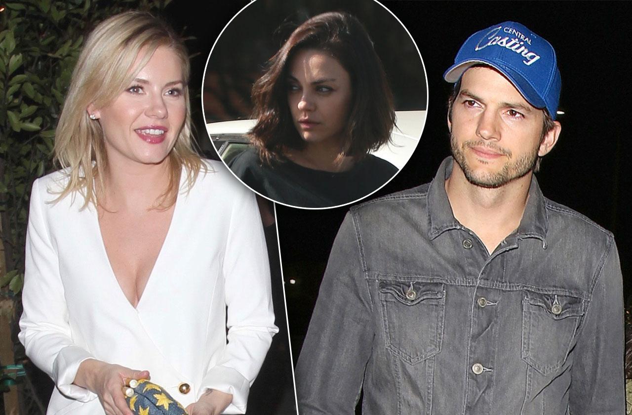 Mila Kunis Jealous Ashton Kutcher 'The Ranch' Costar Elisha Cuthbert