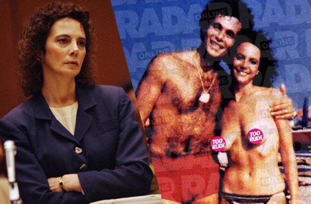 //marcia clark topless nude photo oj simpson trial