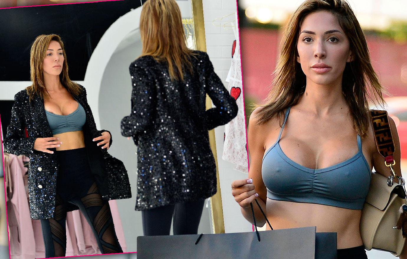 Farrah Abraham Gets New Outfit For Big Fight