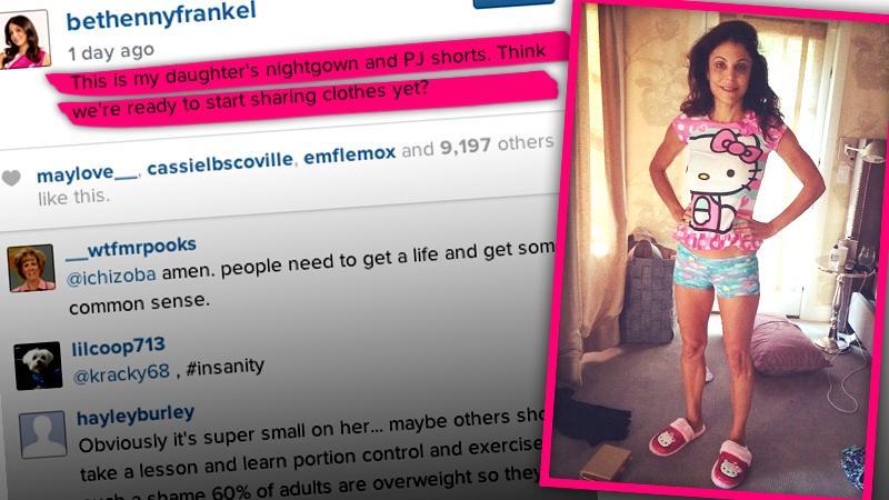 //bethenny frankel wearing bryn clothes instagram more careful posts online body image diet child psychologist pp sl
