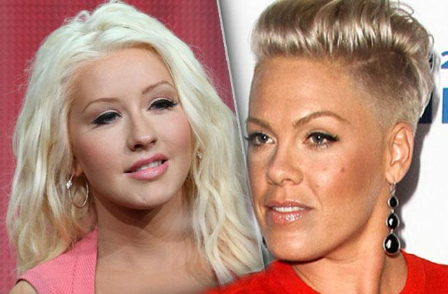 //The Voice Feud Pink Slams Christina Aguilera pp