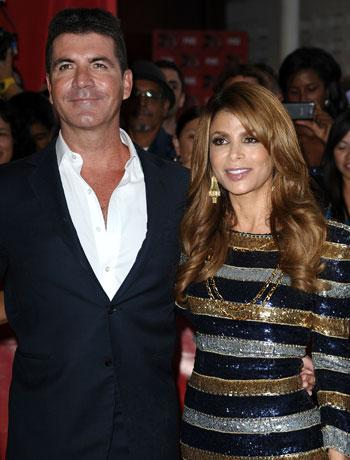 //simon cowell paula abdul x factor getty