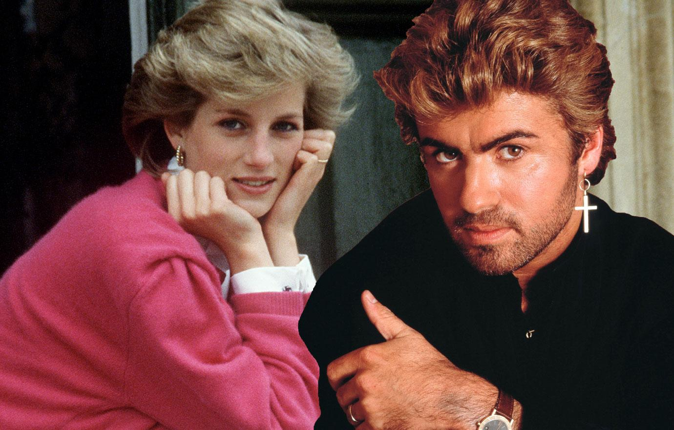 Diana Confided Divorce Problems To George Michael