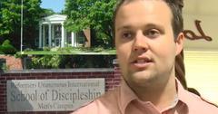 Josh Duggar Sex Scandal Rehab Reformers Unanimous North Love Baptist Church