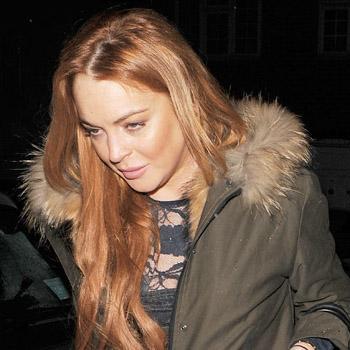 Lindsay lohan Used Glue Fake Hair For 'Party' Marathon