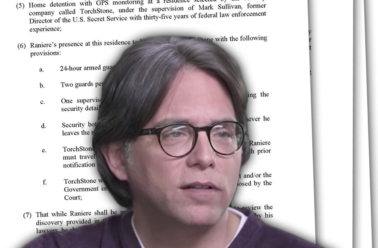 //NXIVM Sex Cult Leader Keith Raniere Request For Bail pp
