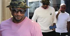 Usher With Pal Jermaine Dupri Amid Herpes Scandal