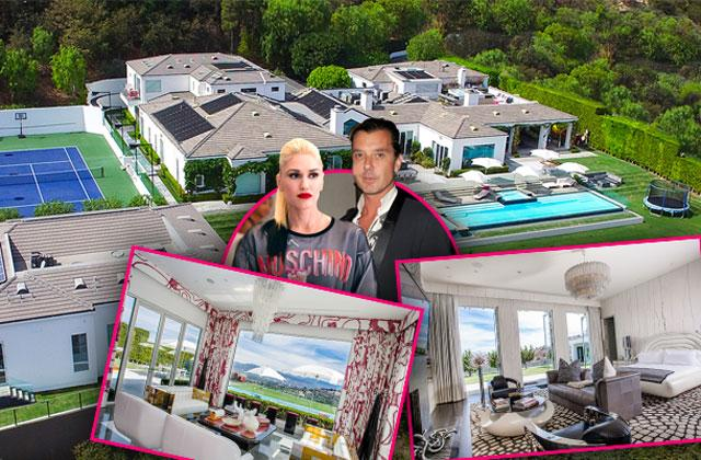//Gwen Stefani Gavin Rossdale Divorce House For Sale pp