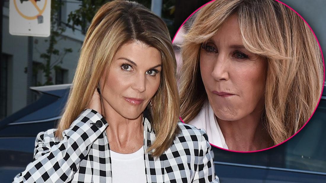 Lori Loughlin Forbidden Discuss Admissions Scam With Felicity Huffman