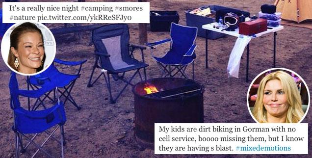 //brandi glanville leann rimes twitter camping photo