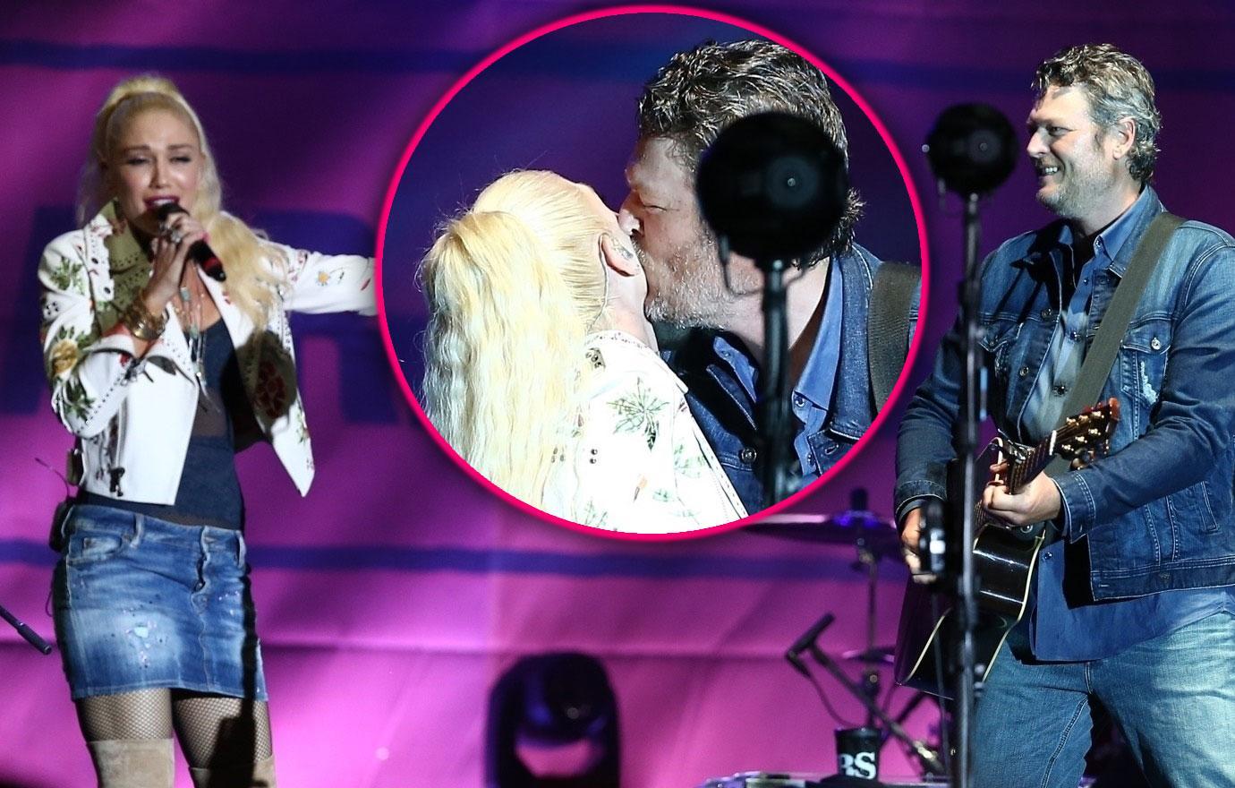 Gwen Stefani And Blake Shelton PDA In Oklahoma