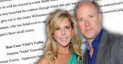 Vicki Gunvalson Boyfriend Brooks Ayers Vickis Vodka Lawsuit Dismissed
