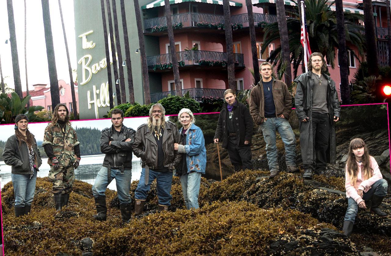 //Alaskan Bush People Location Beverly Hills Hotel pp