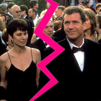 //mel gibson robyn gibson divorce official getty