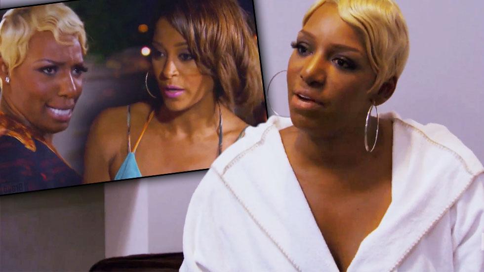NeNe Leakes Claudia Jordan Fight