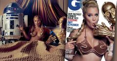 Amy Schumer Princess Leia GQ Bikini