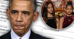 Obama Daughters Sexual Assault Investigation Crime At Sasha Malia Sidwell Friends School