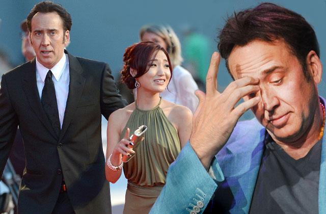 Nicolas Cage Divorce -- Wife Alice Kim Caught Cheating