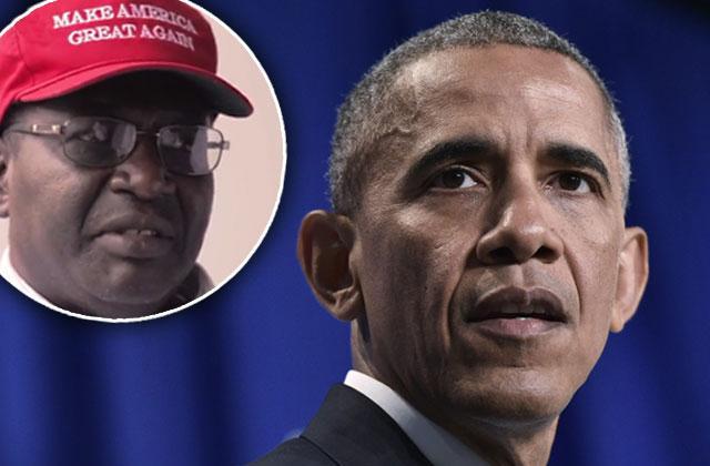 malik obama barack obama half brother donald trump justice system rigged