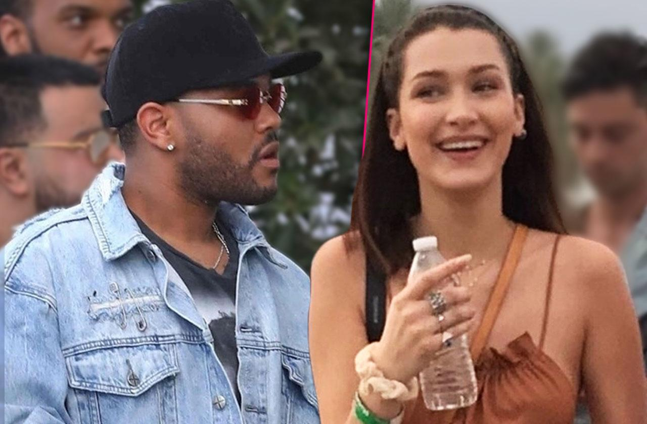 Bella Hadid The Weeknd Reunion Rumors Party Together Coachella Mansion