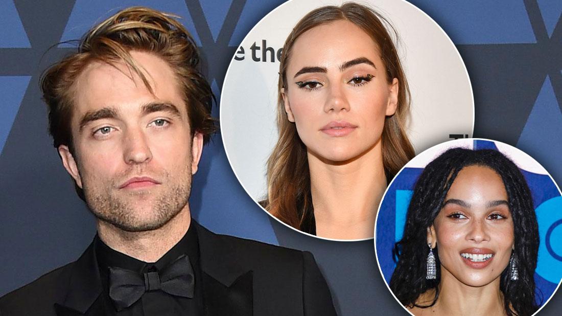 Robert Pattinson's Girlfriend Jealous Of His 'Batman' Costar Zoe Kravitz